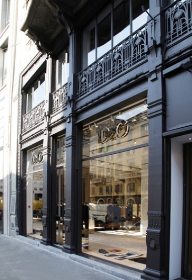 D&G Reveals New Flagship Store in Milan