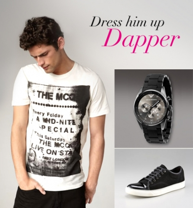 LUX Boyfriend: Dress Him Up Dapper