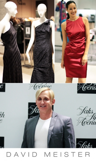David Meister's Fall/Holiday 2012 collection shines at Saks Fifth Avenue