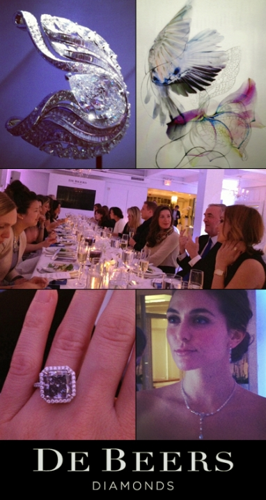 De Beers Showcases Imaginary Nature Collection At Exclusive NYC Dinner Party