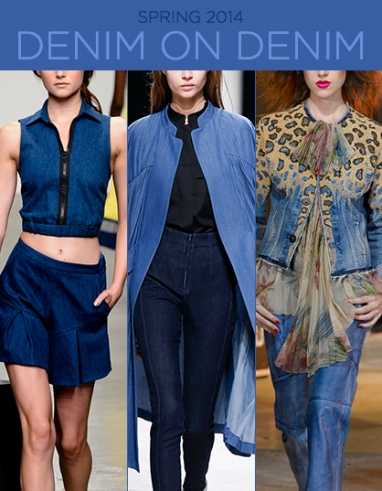 Spring 2014: The Denim on Denim Trend