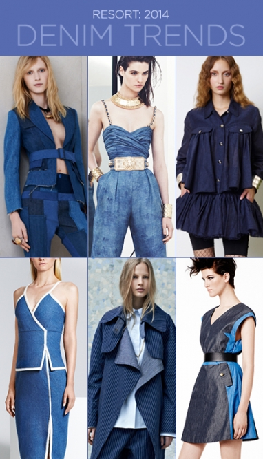 Resort 2014: Trends in Denim