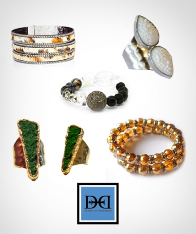 Accessorize with Denise Ilitch Designs one-of-a-kind pieces