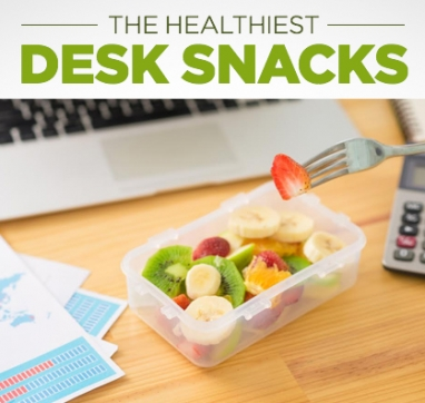 The Healthiest Snacks to Stash in Your Desk
