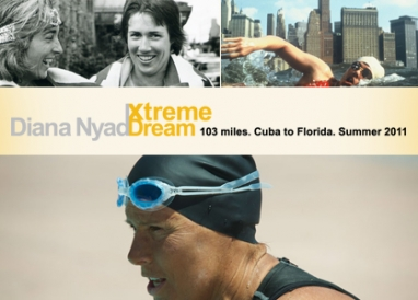 61-year-old Diana Nyad attempts 103-mile swim from Cuba to Key West