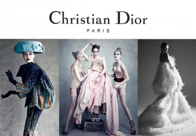 Patrick Demarchelier photographs Dior couture looks for new book