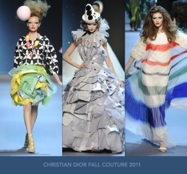 The Strut Report: Christian Dior Fall Couture 2011