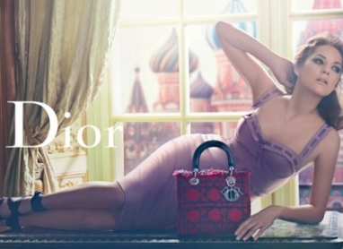 Dior's splashy Russian ad