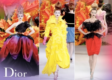 Flower Power: Christian Dior Couture