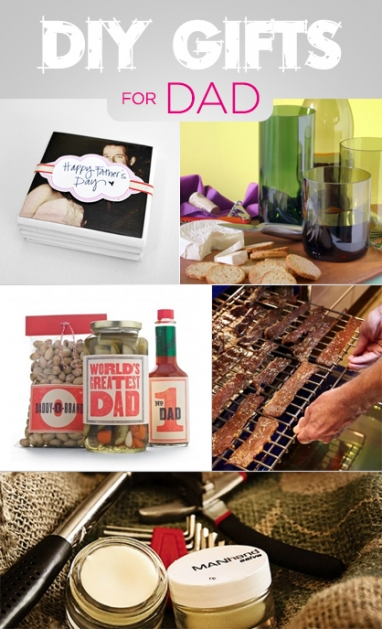 Father's Day: 5 DIY Gifts for Dad