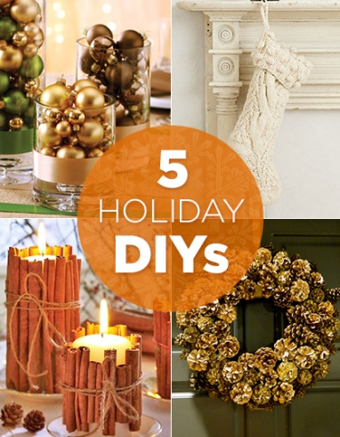 LUX Home: 5 Holiday DIYs