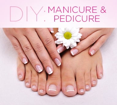 LUX Beauty: DIY Manicure & Pedicure