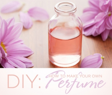 LUX DIY: How to Make Your Own Perfume