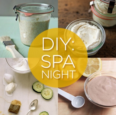 LUX Beauty: 7 Spa Night DIYs