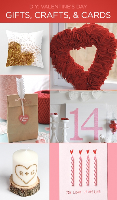 Valentine's Day: DIY Gifts, Crafts & Cards
