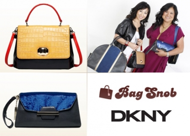 Donna Karan plus Bag Snob equals fab line of handbags