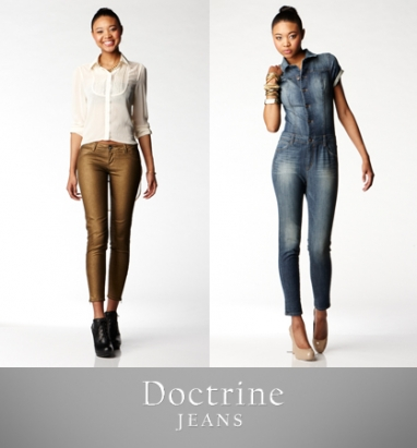 A special sneak preview of Doctrine Jeans' Fall 2012 collection