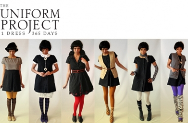"365 Day Challenge: ""The Uniform Project"" from  Sheena Matheiken"