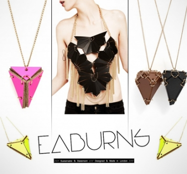 E-Boutique ICU in Paris offers trendy eco-friendly jewelry from EA Burns and Lamia Benalycherif