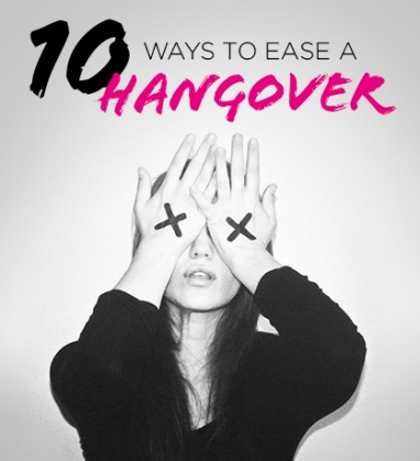 Wellness Wednesday: 10 Ways to Ease a Hangover