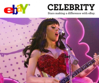 Ebay launches eBay Celebrity to auction off celebrity items for charity