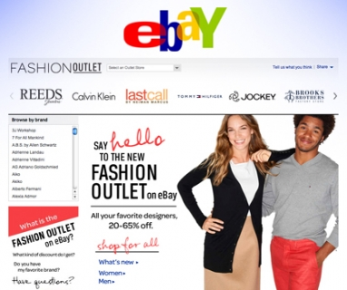 EBay unveils Fashion Outlet, an online 'outlet shopping mall'
