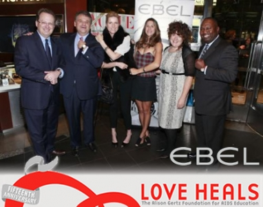 Ebel and Vogue come together for HIV/AIDS awareness