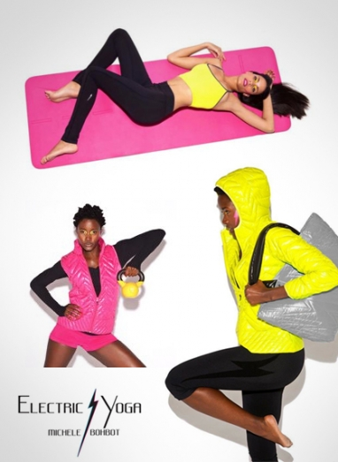 Michele Bohbot's Electric Yoga active wear is functional and fashionable