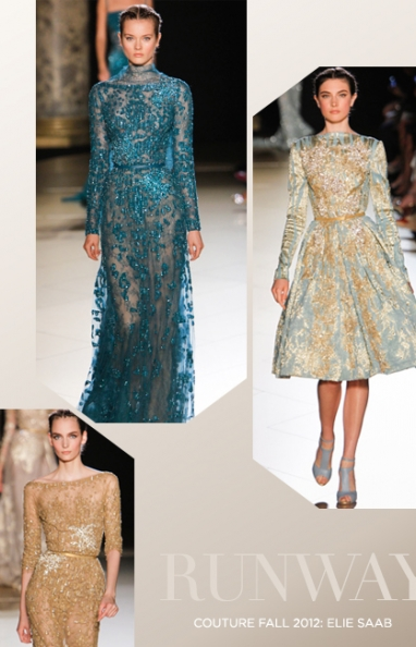 Fall Couture 2012: Elie Saab