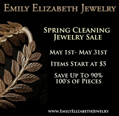 Spring Cleaning: Emily Elizabeth Jewelry Sale