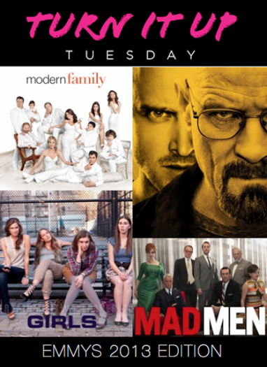 Turn it Up Tuesday: Emmys 2013 Edition