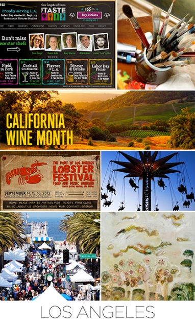 September 2012 event guide: Los Angeles, San Diego and Boston