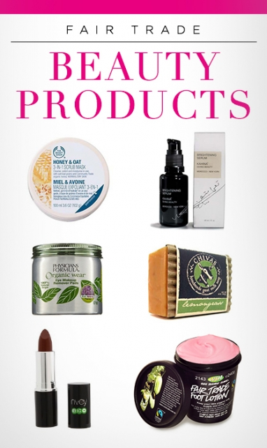 Top 8 Fair Trade Beauty Items