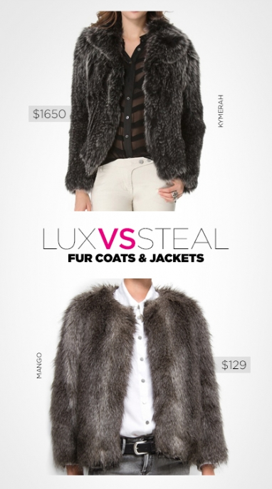 LUX vs. Steal: fur coats and jackets