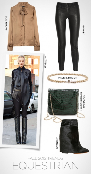 Fall 2012 trends: equestrian