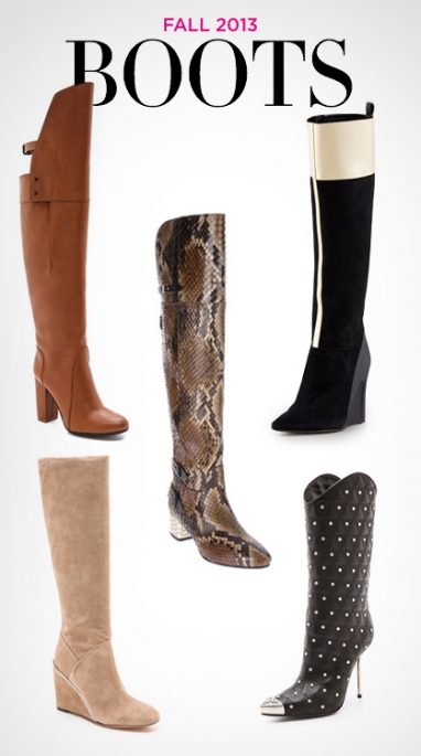 LUX Style: Fall 2013 Boots