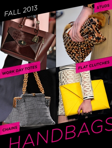 LUX Style: Fall 2013 Must-Have Handbags