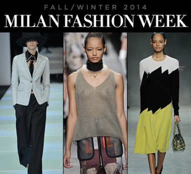 Milan Fashion Week: Fall 2014 RTW Trend Recap