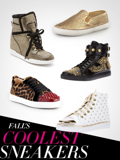 Get the Look: Fall 2013's Coolest Sneakers