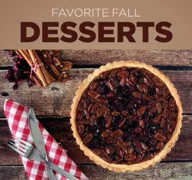 Favorite Fall Dessert Recipes