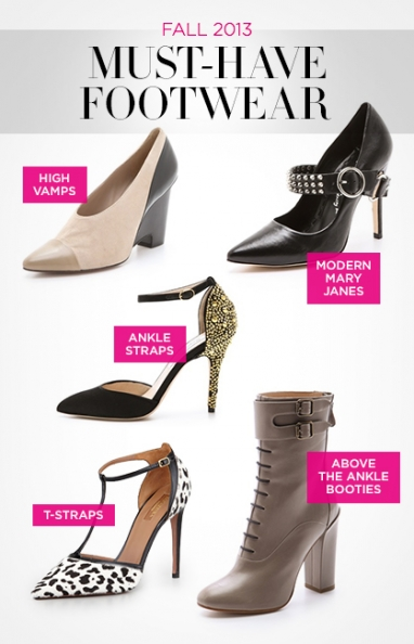 LUX Style: Fall 2013 Must-Have Footwear