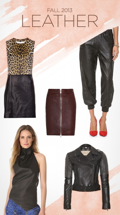 LUX Style: Fall 2013 Leather