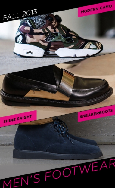 LUX Man: Fall 2013 Footwear Trends