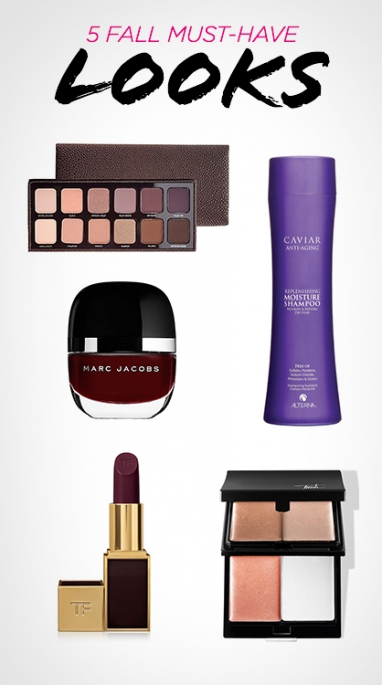 LUX Beauty: 5 Fall Must-Have Looks