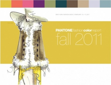 Pantone announces Fall 2011 colors