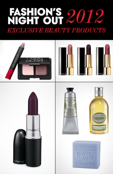 LUX Beauty: sneak peek at Fashion's Night Out 2012 exclusive products