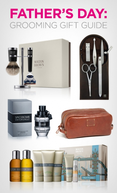 Father's Day: Grooming Gift Guide