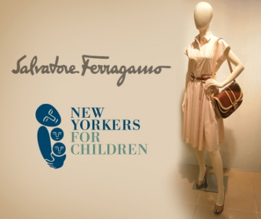 Salvatore Ferragamo & W Magazine host event for New York foster children