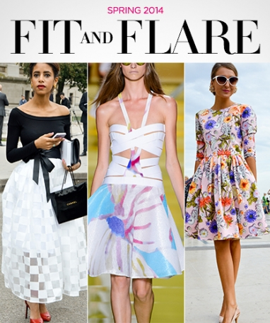 Spring 2014: Fit and Flare