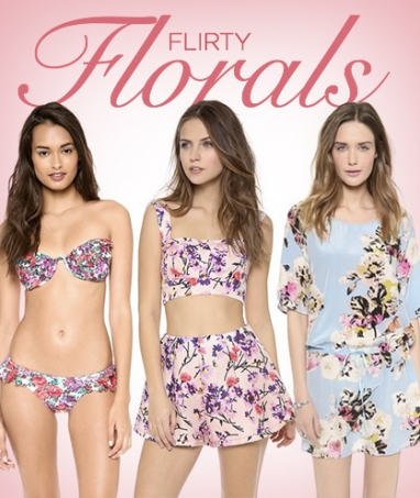 LUX Style: Flirty Florals